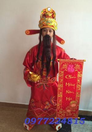 Thuê trang phục Thần Tài giá rẻ nhất TPHCM