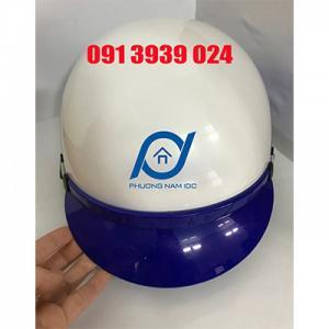 Làm mũ bảo hiểm theo yêu cầu, in nón bảo hiểm giá rẻ, in logo trên mũ bảo hiểm