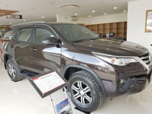 Xe Toyota Fortuner Số Sàn, Nhập Khẩu Đủ Màu, Hỗ Trợ Trả Góp Tới 85% Giá Trị Xe
