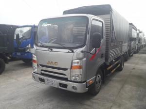 Xe tải Jac 3t45 CaBin vuông kiểu dáng đẹp như ISUZU, Bảo hành 5 năm, Tặng Định vị, Phù hiệu,