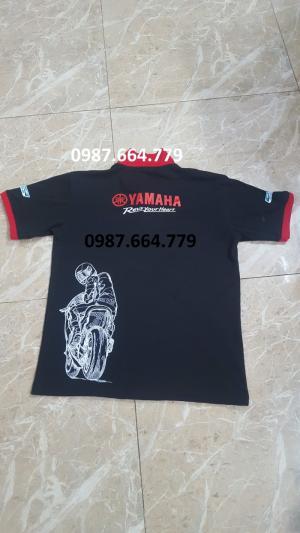 In Quần áo sửa xe yamaha, honda giá rẻ ship toàn quốc