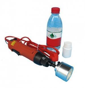 Máy đóng nắp chai nhựa cầm tay OS-600, máy siết nắp chai nước suối thủ công, máy siết nắp can nhựa