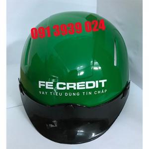 Xưởng sản xuất nón bảo hiểm quảng cáo giá rẻ miễn phí thiết kế giao hàng  TP HCM