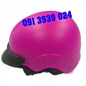 In nón bảo hiểm quảng cáo đẹp, sản xuất nón bảo hiểm giá rẽ, In  logo quảng cáo theo yêu cầu
