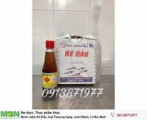 Nước mắm Bé Bầu, loại Thượng hạng, chai 250ml, Cá Ná, Ninh Thuận