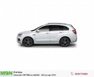 Chevrolet CAPTIVA ưu đãi 60tr - Hỗ trợ vay LS 0%