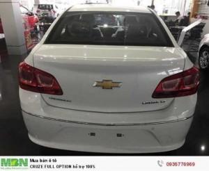 Chevrolet CRUZE MT giảm giá mạnh- hỗ trợ 100%- Lãi suất ưu đãi