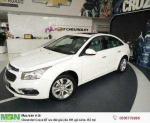 Chevrolet Cruze AT ưu đãi giá cho KH gọi sớm- Hỗ trợ 100%