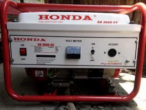 Máy phát điện honda SH 3500E 2.8kw_nổ đề_mẫu trắng