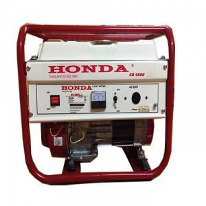 Máy phát điện honda SH 4500C 3kw_giật tay_mẫu trắng
