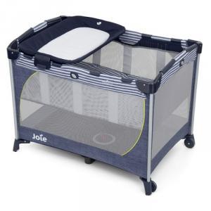 Giường cũi trẻ em Joie Commuter Change Denim
