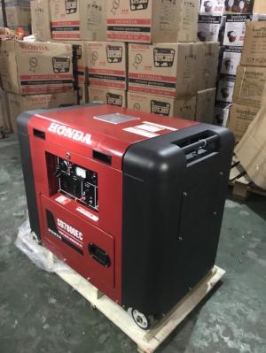 Máy phát điện honda SD 7800 EC chạy dầu_5.5kw_đề