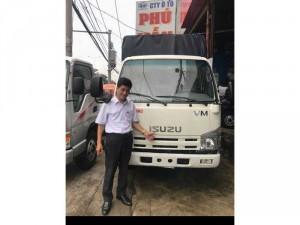 xe tải isuzu 1,9 Tấn Thùng mui bạt 6,2 m ráp ráp tại Việt Nam!