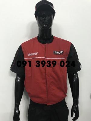 Đồng phục Yamaha, đồng phục thợ Yamaha, đồng phục kkt Yamaha. Chuyên cung cấp đồng phục sữa chữa xe máy