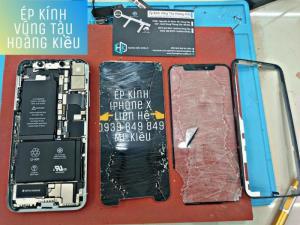 Ép Kính Iphone X, Huawei Nova 3i, Xiaomi Redmi 6 Pro... - Hoàng Kiều Mobile