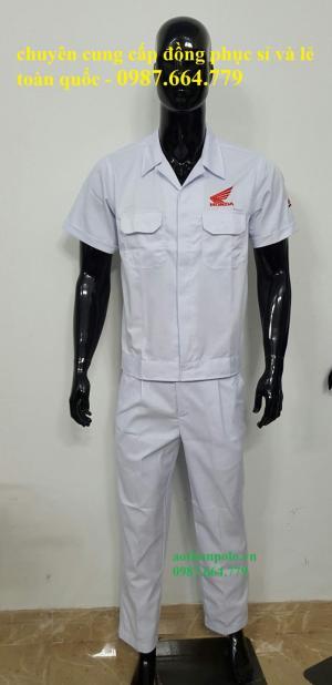 Đồng phục bảo hộ lao đông, in thêu theo yêu cầu giá tốt nhất trên toàn quốc