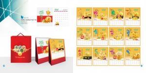 Chuyên cung cấp lịch để bàn chữ A 2019 cao cấp giá siêu rẻ