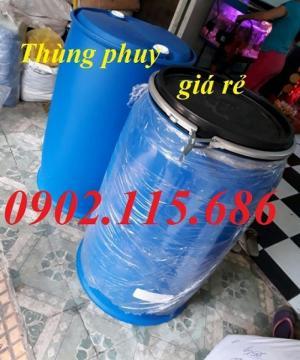 Thùng phuy nhựa 50l, thùng phuy nhựa 100l, thùng phuy nhựa 150l, thùng phuy nhựa 220l