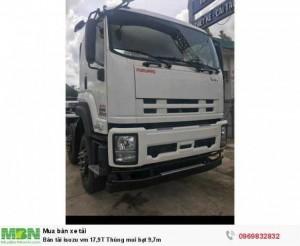 Bán xe tải isuzu vm 17,9T Thùng mui bạt 9,7m