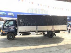 Giá xe tải Hyundai HD120SL 8 tấn thùng mui bạt rẻ nhất miền Nam, trả trước 100 triệu giao luôn xe