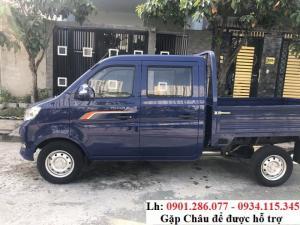 Bán xe tải cabin đôi - xe tải cabin kép Trường Giang 810kg trả góp + 5 chỗ ngồi