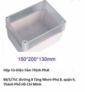 Hộp tủ điện Tâm Thịnh Phát  hộp tủ điện 150 x 200 x 130 mm