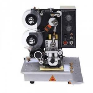 Máy in date bán tự động HP241B, máy đóng date trên bao bì tem nhãn, máy in date trên bao bì vỏ hợp
