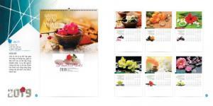 Chuyên cung cấp - in lịch treo tường 2019 giá sỉ tại Biên Hòa