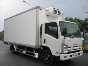 Xe tải isuzu 5 tấn thùng đông lạnh, trả trước...