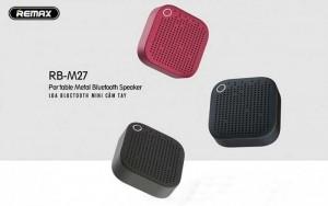 Loa Bluetooth Remax RB-M27 Nghe Nhạc Hơn 12 Tiếng
