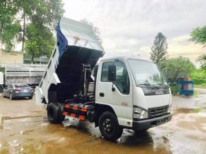 Xe tải ben isuzu 2t4 - Trả trước 100 triệu giao xe luôn
