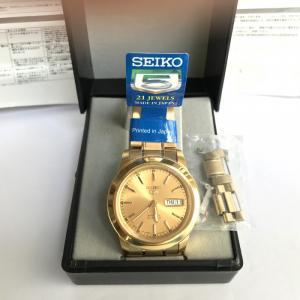 Đồng hồ Seiko Nam - Automatic (Tự Động) - Dây Kim Loại