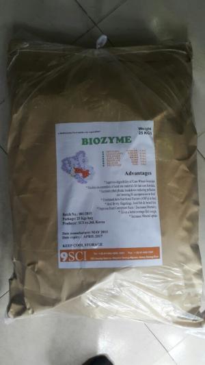 Cung cấp Biozyme Enzyme cho ăn tăng trọng và kích thích tiêu hóa