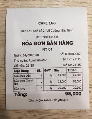 Bán Máy tính tiền cho Quán Cafe tại Nghệ An