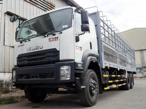Xe tải isuzu 15 tấn thùng mui bạt - Trả trước 200 triệu,giao xe ngay