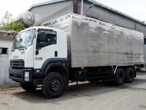 Xe tải isuzu 15 tấn thùng kín inox - Trả trước 200 triệu,giao xe ngay