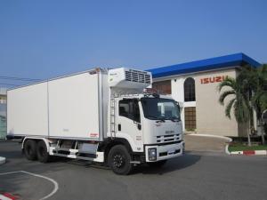 Xe tải isuzu 15 tấn thùng đông lạnh - Trả trước 200 triệu giao luôn xe