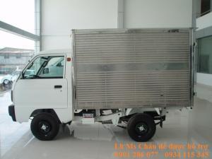Xe Tải Suzuki Truck 600kg ( Lắp Ráp) Thùng Kín + giá rẻ nhất thị trường+hỗ trợ trả góp từ 30%