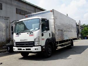 Xe tải isuzu 6t2 thùng kín inox - Trả trước 100 triệu giao luôn xe