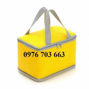 Chuyên may túi giữ nhiệt giá rẻ, túi giữ nhiệt in logo theo yêu cầu