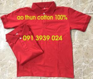 Áo thun cotton 100%, may áo thun đồng phục cotton 100% cao cấp, áo thun đồng phục đẹp