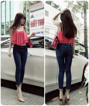 Quần jean lưng cao đẹp (QD134)