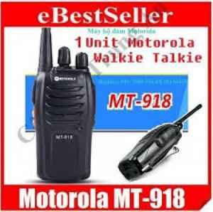 Bộ đàm giá rẻ Motorola TM-918 sản xuất tại...
