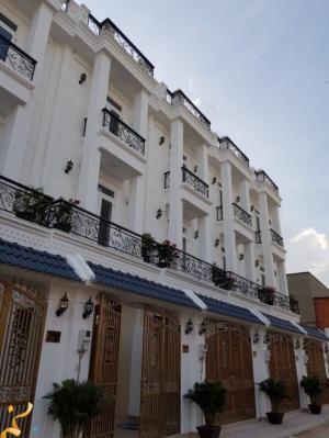 2018-09-21 09:43:45  2  Bán 12 căn nhà xây sẵn hẻm 8m đường 17A, Bình Tân, gần công ty Pouyen 2,150,000,000