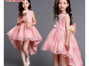 Váy bé gái hồng 10kg-23kg