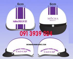 Đặt in mũ bảo hiểm theo yêu cầu, đặt in mũ bảo hiểm có logo công ty, in nón bảo hiểm