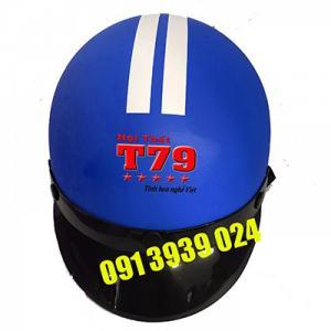 In nón theo yêu cầu, in nón bảo hiểm chất lượng, in nón bảo hiểm quảng cáo đẹp - UY TÍN hàng đầu