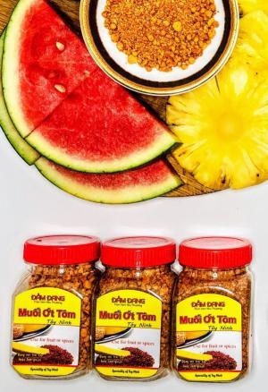 Muối ớt tôm Tây Ninh - Đảm Đang