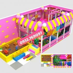 Chuyên thiết kế - lắp đặt các loại Nhà banh, Khu vui chơi mầm non