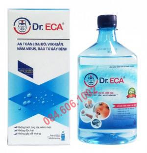 Dung dịch khử trùng/sát khuẩn Dr.ECA